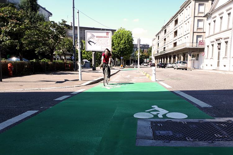 Mulhouse à vélo : concertation rue des Bonnes Gens